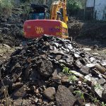 Off site disposal of gasworks waste