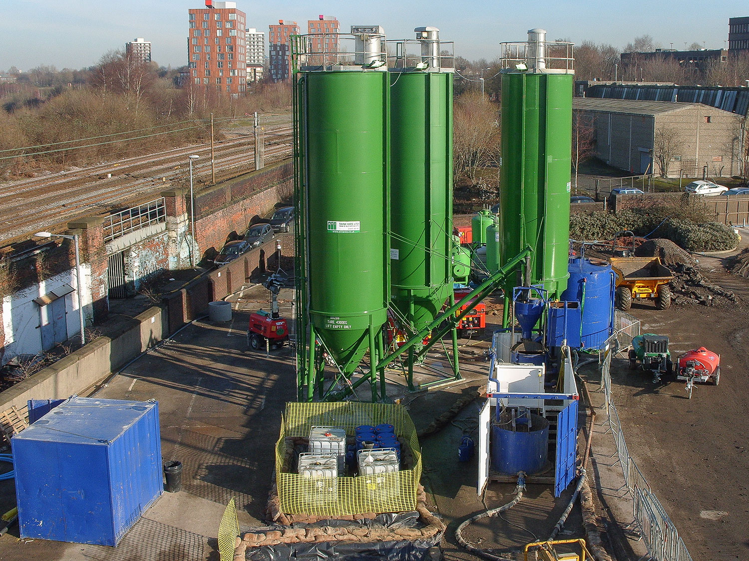 Chemical Stabilisation Treatment
