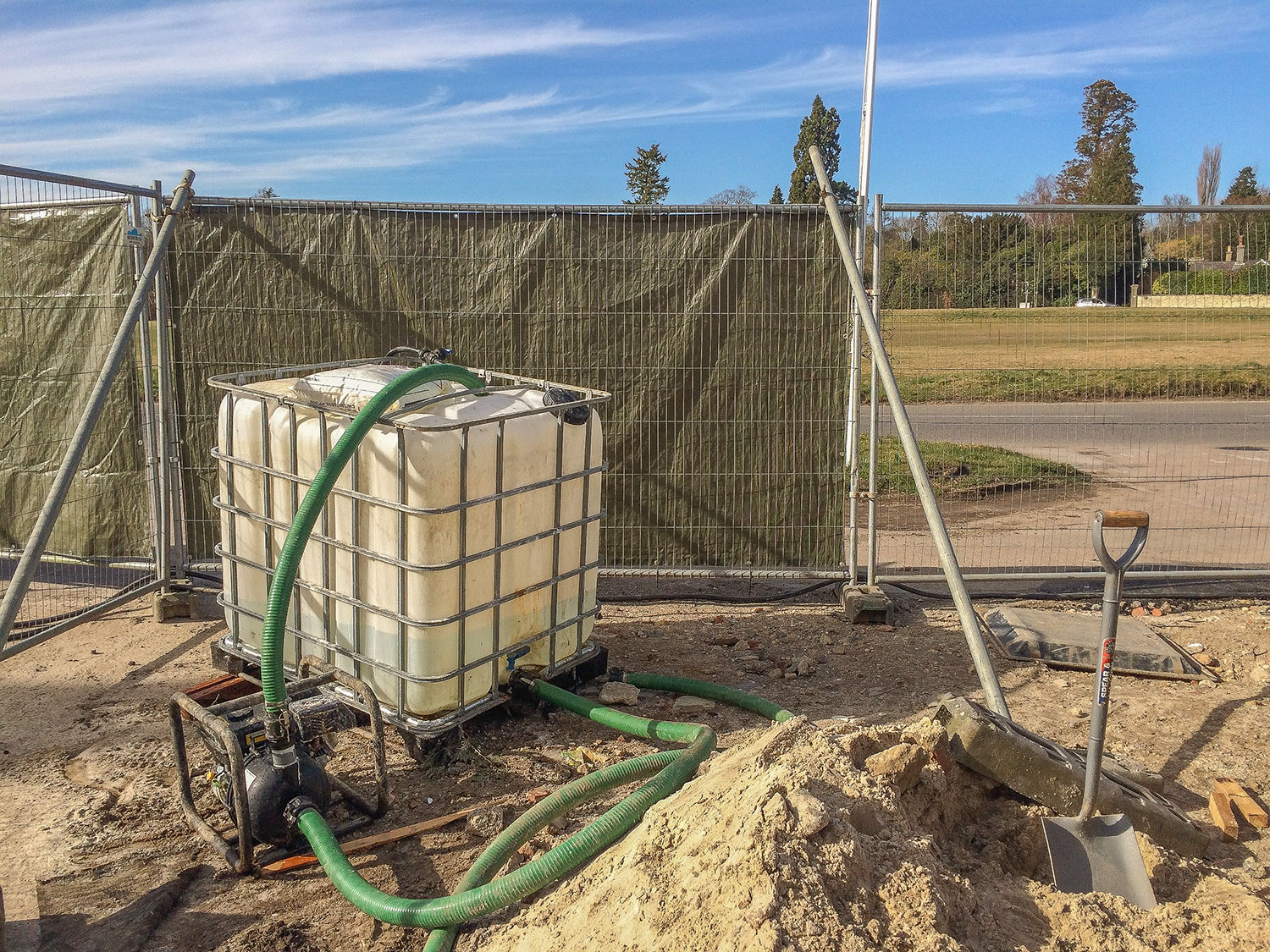 Chemical Oxidation Groundwater Treatment