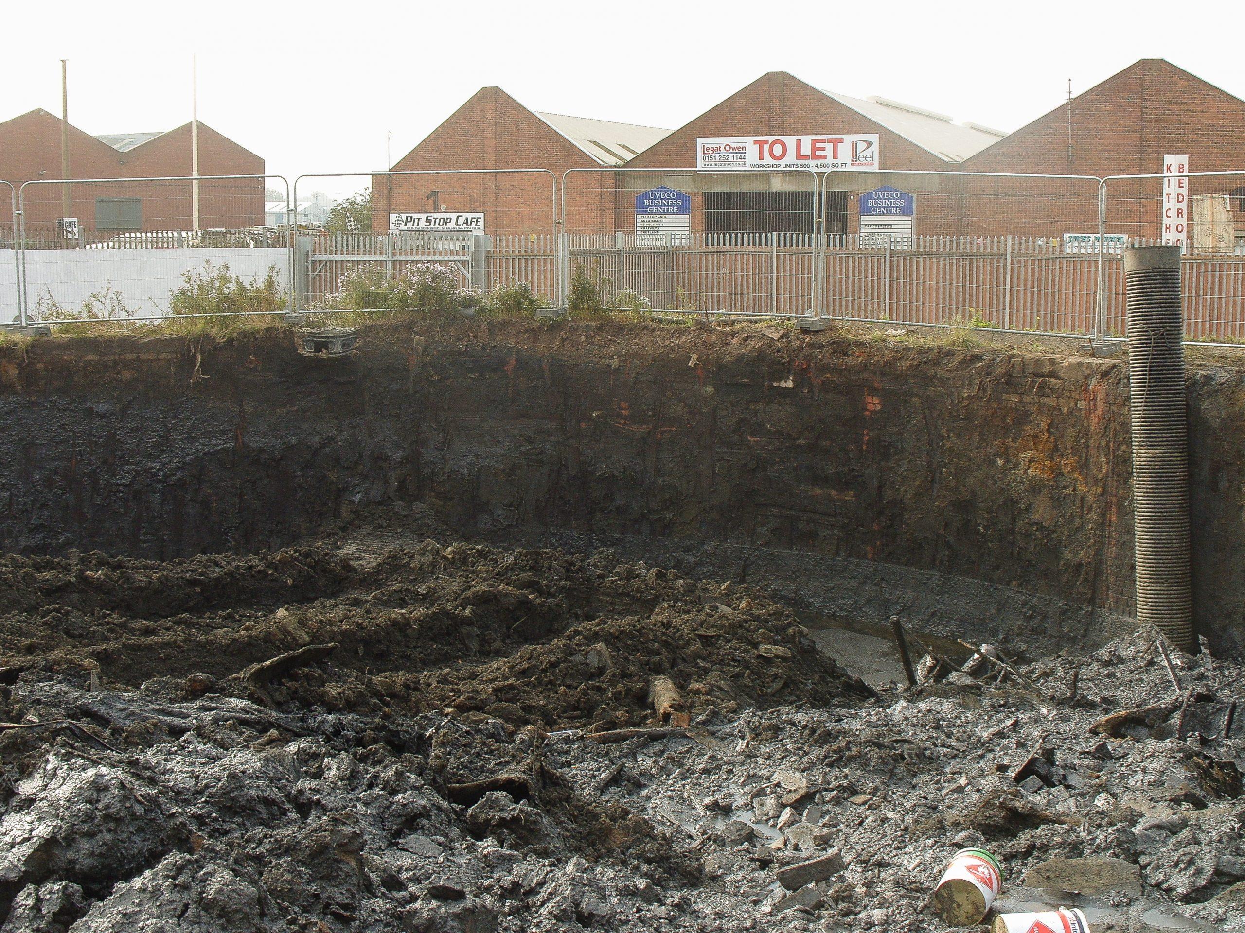 Hazardous and non hazardous soil off site disposal - Gould Street Gasworks