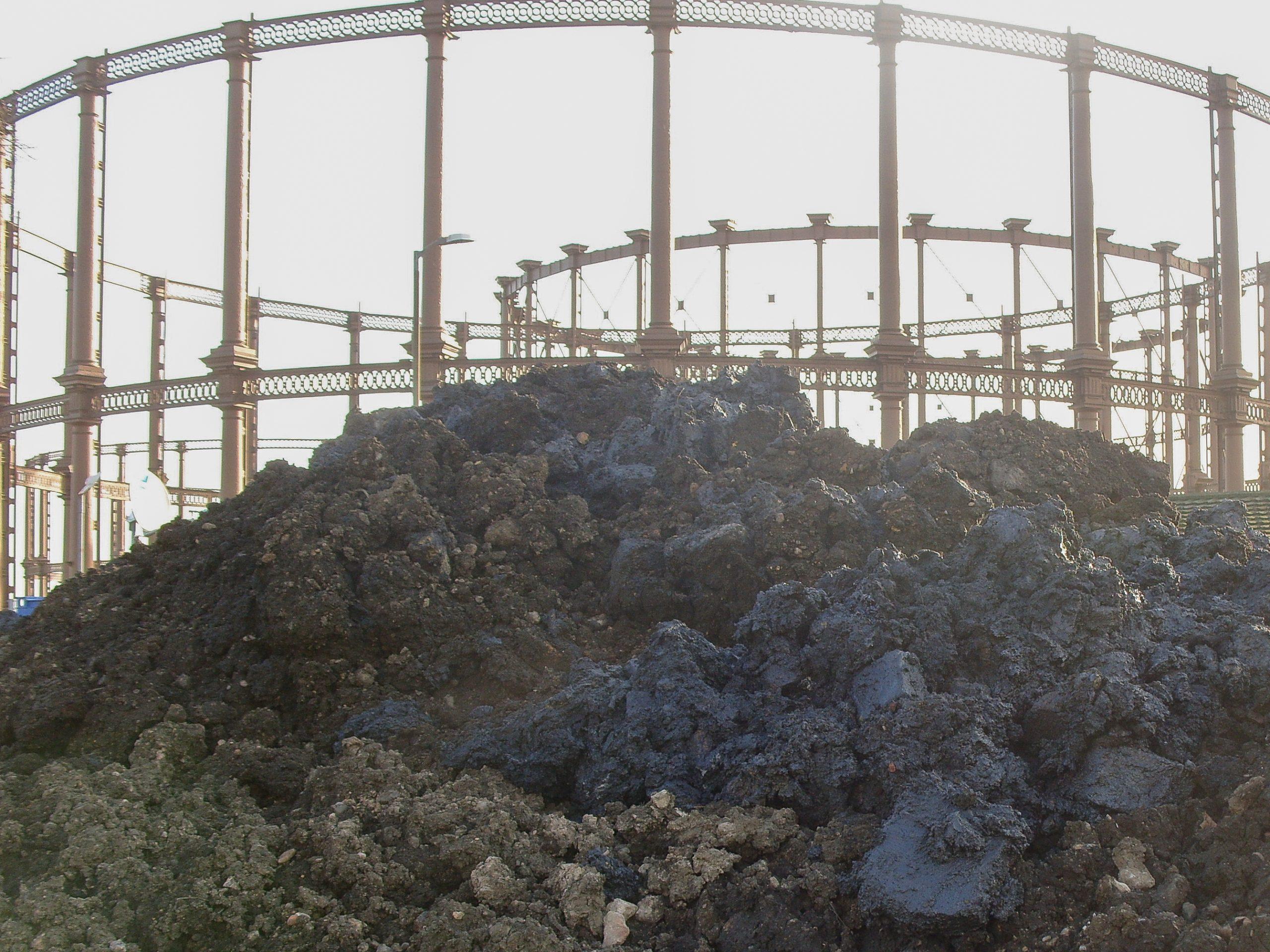 Removal of Hazardous Soil Salford Gasworks