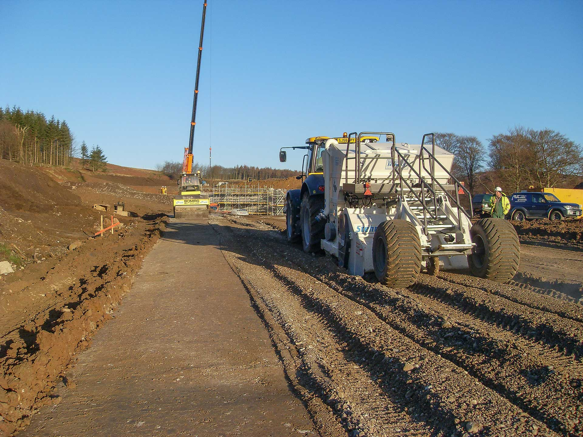 Chemical Soil Stabilisation Treatment