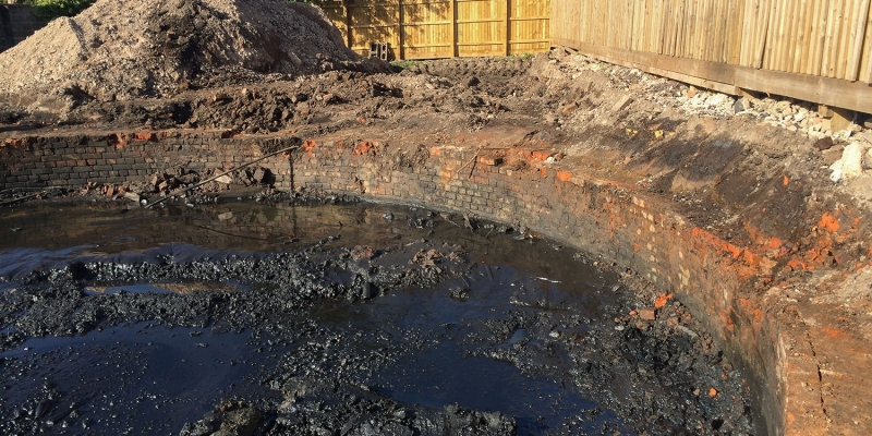 Off Site Disposal Treatment of gasworks waste